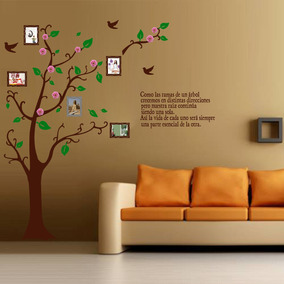 Arbol genealogico vinilo decorativo para pared en oferta decoraci n para el hogar en mercado for Oferta vinilos pared