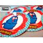 90 Topper Topo P/ Docinhos Galinha Pintadinha Cupcake