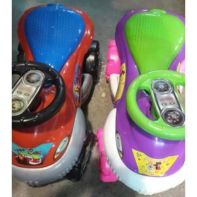 Carritos Montable Cars/ Princesas Niño /niñas Con Suspensión