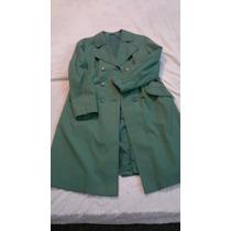 Piloto Para Dama Suizo Talle L Usado Color Verde.oferta