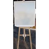 Lousa Quadro Branco 90x70cm + Cavalete + Apagador E Caneta