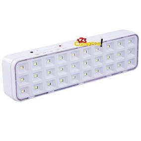 Luminária 30 Leds Luz De Emergência Recarregável Bivolt