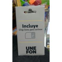 Chip Unefon Nuevo Original Incluye $100 Pesos De Saldo