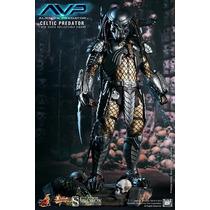 Hot Toys Predador Alien Vs Predator Avp Celtic Predator