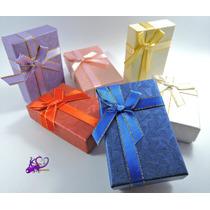 Paq 24 Cajas Regalo Joyería Colores Surtidos Envío Gratis