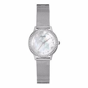 W0647l1 Reloj Guess Dama Mother Of Pearl  watchito 