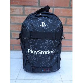 Mochila Playstation Porta Notebook Logos Chiquitos