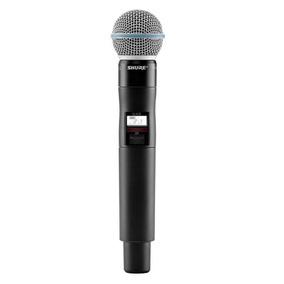 Shure Qlxd2/beta58a - Microfono Inalámbrico De Mano