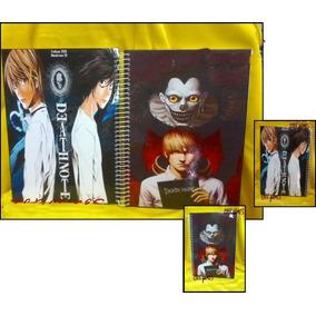 Caderno Death Note 10 Materias - 200 Folhas Mod 06