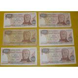 Billete Argentina Coleccion $ 1000 Ley 18188/69 Defghi