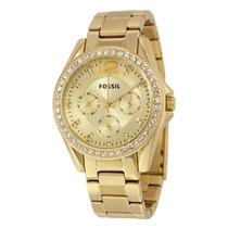 Reloj Fossil Es3203 Dorado Dama 100% Original Envío Gratis