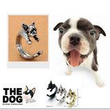 Anillos Con Forma De Perro Mascota Terrier Bulldog Pug Potte