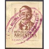 Argentina 1328 Matasello Costera Criolla. Mensajeria Moderna