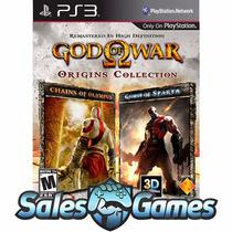 God Of War Collection - Ps3 Psn - Coleção De Gow - Envio Já