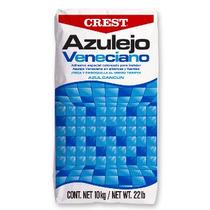 Pega Azulejo Crest Blanco Para Alberca Bulto 20kg /4m2