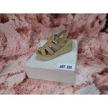 Sandalia Con Taco Alto,catalogo Verano