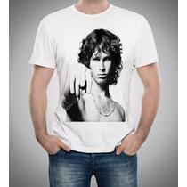 Camiseta Ou Baby Look Jim Morrison The Doors Rock N Roll