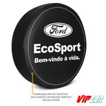 Capa Estepe Ecosport Original Em Lona Promoção! Pneu