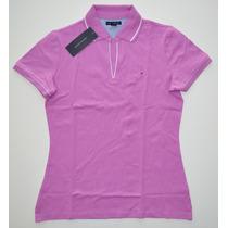 Blusa Polo Tommy Hilfiger Vários Modelos Feminina Original