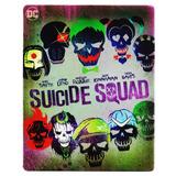 Escuadron Suicida Suicide Squad Steelbook Pelicula Blu-ray