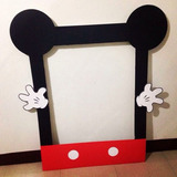 Marco Mickey Minnie Cumpleaños Bautismo Infantil