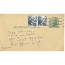 L133-estados Unidos Entero Postal Circulado 1969-
