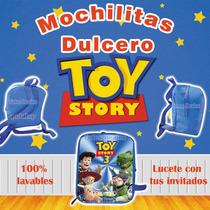 5 Mochilitas Dulcero Toy Story , Woody , Buzz. Jessy Op4