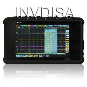 Mini Osciloscopio Portatil Digital 4 Canales 144 Ms/s Dso203