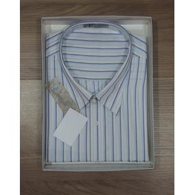Camisa Social Masculina Hp Grande Plus Manga Curta Tamanho 8