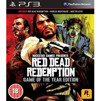 Red Dead Redemption+undead Nightmare - Ps3