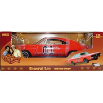 Autoworld General Lee 1:18 Dodge Charger 69 Dukes Of Hazard
