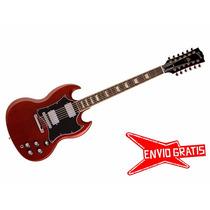 Guitarra Electrica Gibson Sg Standard 50th 12 Cuerdas
