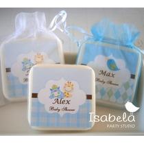 Paquete Recuerdo Bebe Jabon Baby Shower Bienvenida Del Bebe