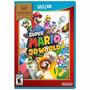 Super Mario 3d World Wii U Original Lacrado Pronta Entrega