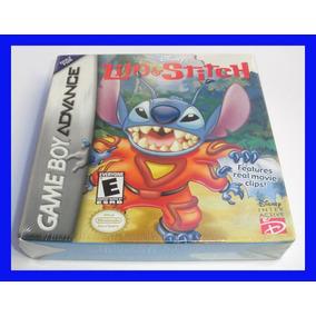 Lilo Stitch 1 Game Boy Advance Lacrado Mario Disney