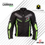 Chaqueta Moto Cordura Green Con Protecciones !!!