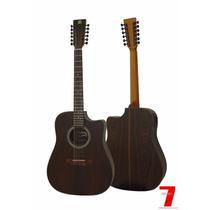 Violão12 Cordas, Craviola Rozini Rx415at-ct Folk