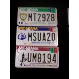 Placas De Auto Especiales De Montana Usa