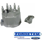 Kit Tampa + Rotor Distribuidor Ford F1000 4.9 94/98