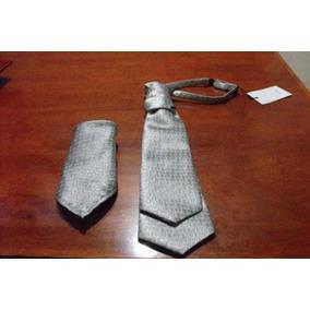 Corbata Para Novio + Pañuelo Para Traje