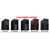 Case Gamer Fuente 350w Fan12 Cm Color, Usb 3.0 Azul Rojo