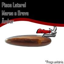 Lanterna Lateral Pisca Marea E Brava Ambar