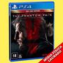Metal Gear V 5 The Phantom Pain Ps4 Edição De Lançamento