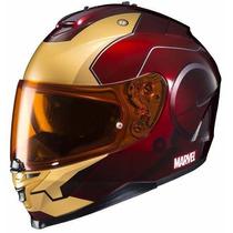 Casco Hjc Helmets De Marvel Iron Man En Talla L Motociclism