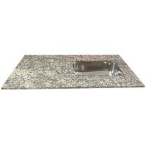 Mesada Cocina Granito-marmol 120x60 G/perla C/bacha Johnson
