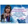 50 Convites Aniversário Personalizado - Todos Tema C/ Foto
