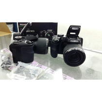 Câmera Fuljfilm Finepix S8200 16mp Zoom 40x Nova