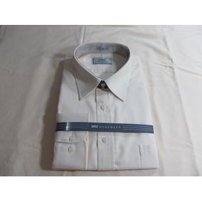 2 Camisa Raphy M Longa Work,ref.52062,tam.44 Branco