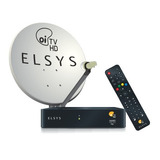 Kit Oi Tv Livre Hd Com Antena 60cm Monoponto