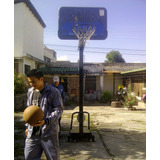 Tablero De Basquet Con Poste Altura Regulable